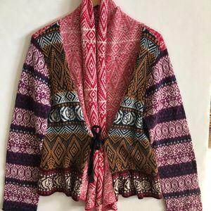 Sundance Gretchen Cardigan Sweater Size Large